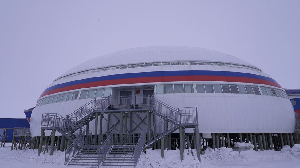 Base ártica de Rusia