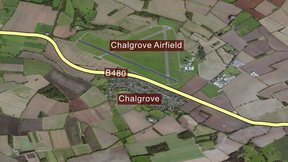 Chalgrove map