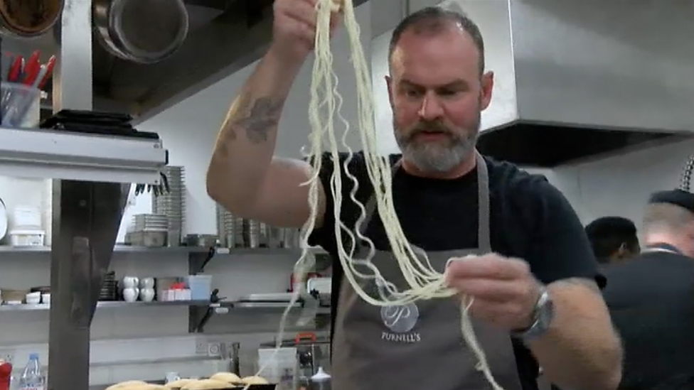 Michelin-starred chef's homage to Spaghetti Junction
