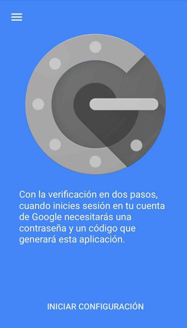 Pantallazo de la aplicación de seguridad creada por Google.