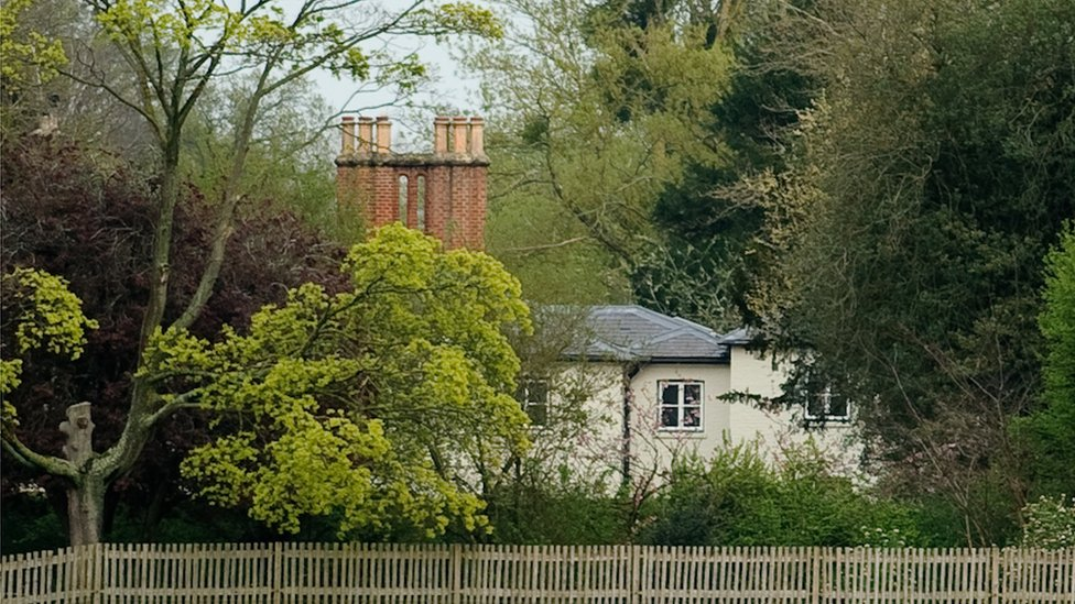 Frogmore Cottage en Windsor