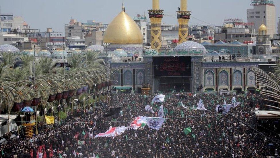 伊拉克什葉穆斯林慶祝阿舒拉節