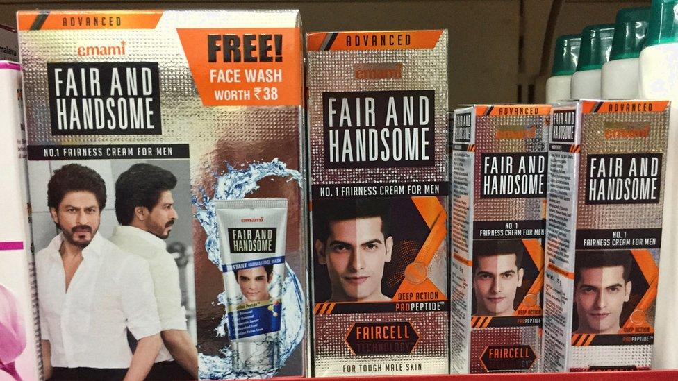 منتجات التبييض تستهدف الرجال كما النساء