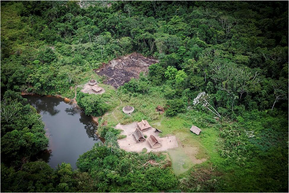 Aldea en el Amazonas