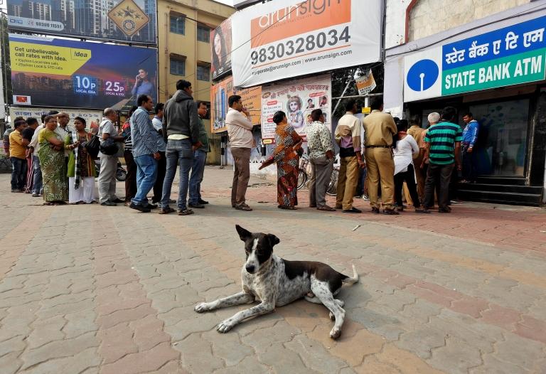 India ha tomado medidas drásticas contra el efectivo.