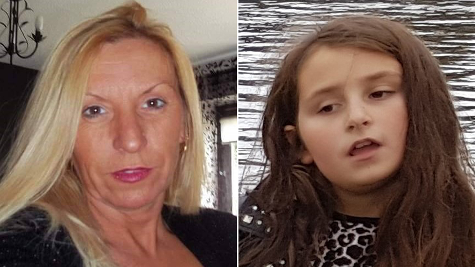 Mother and daughter, 8, go missing from Barry