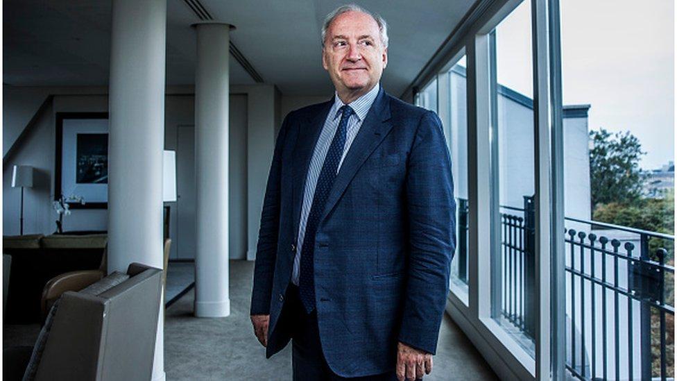 French former foreign minister Hubert Vedrine