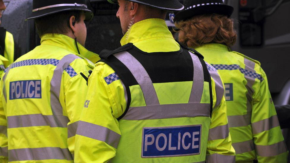 Police arrest three men on suspicion of terror offences
