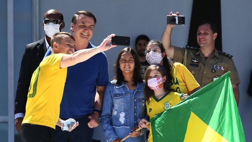 Bolsonaro sa ćerkom