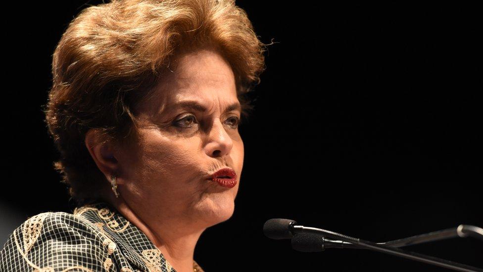 Dilma Rousseff. expresidenta de Brasil