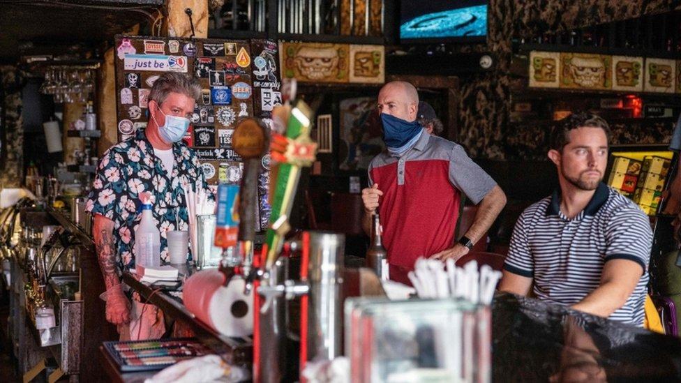 Un bar en Texas