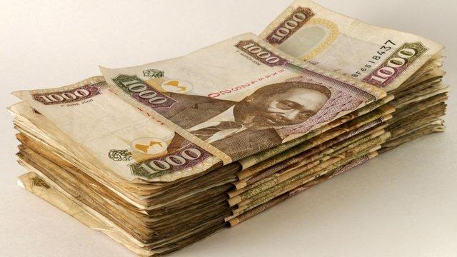 Kenyan shillings