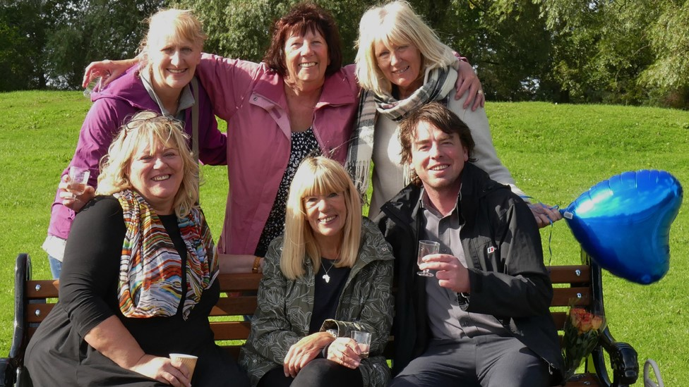 Elizabeth Gomm and friends