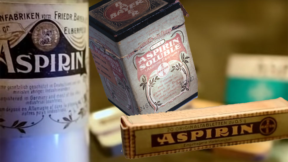 Aspirina en varias presentaciones