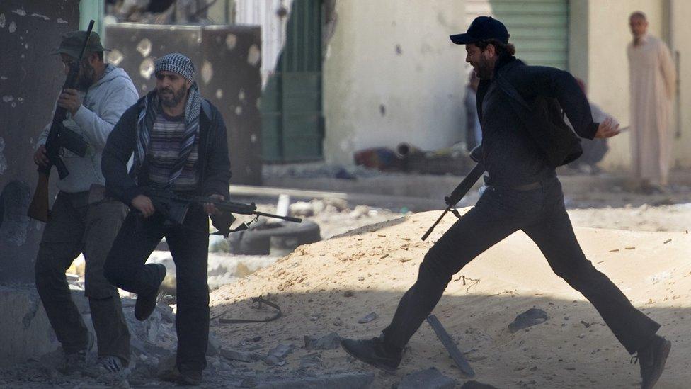 Choques en Trípoli, Libia