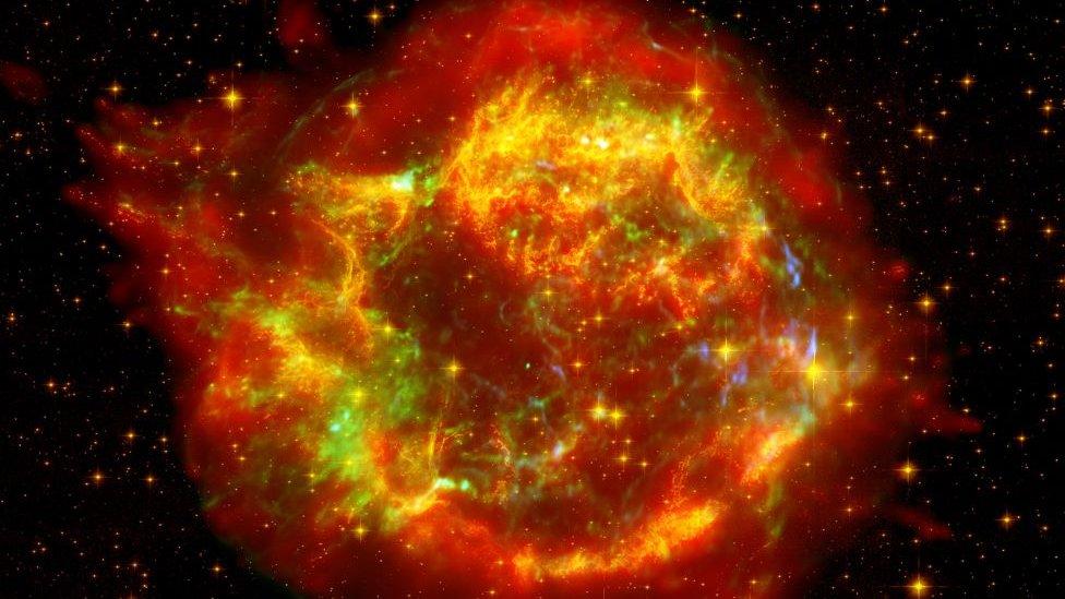 Supernova Casiopea A