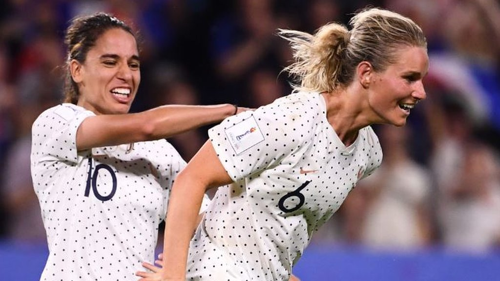 Women's World Cup: Henry gets winner as France beat Brazil