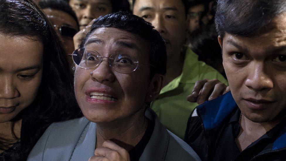 الصحفية الفلبينية ماريا ريسا تخضع الآن للتحقيق