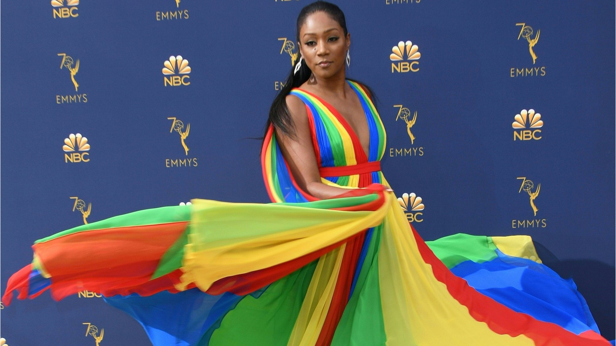 Emmy Awards 2018 red carpet fashion - in pictures