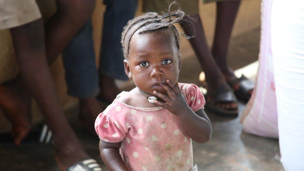 Child in Dambala