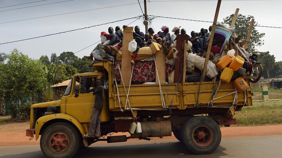 Muslims flee in Central African Republic