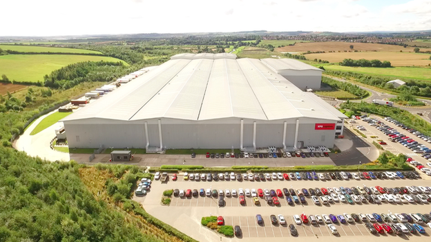 Asos warehouse Barnsley