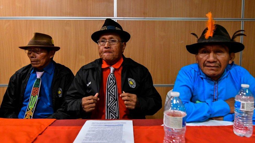 Los representantes de la comunidad Guna anunciaron que buscarán una compensación.