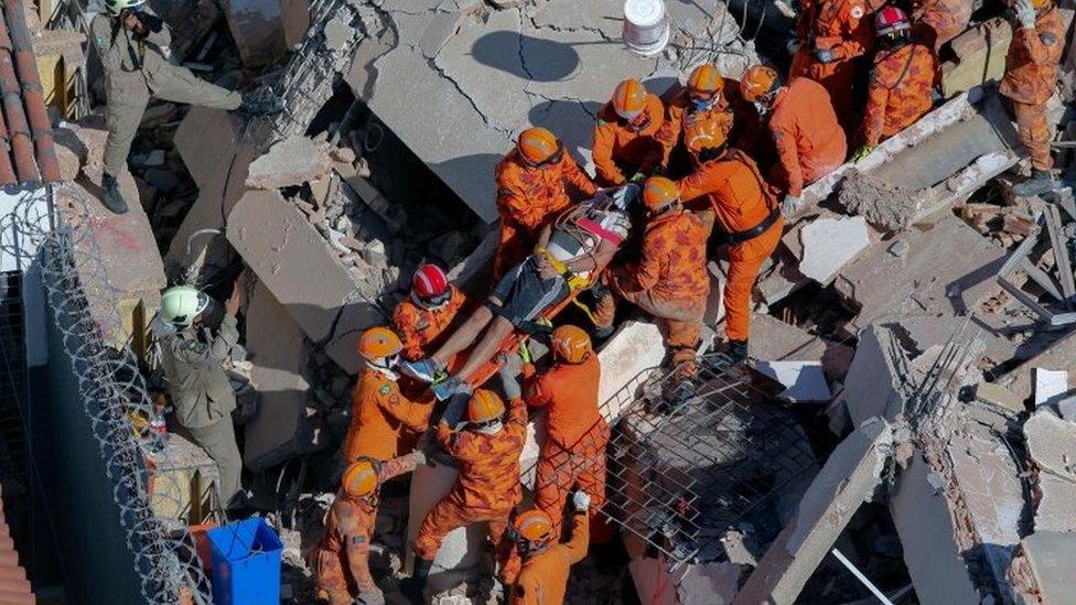 У Бразилії обвалилася багатоповерхівка: є загиблі