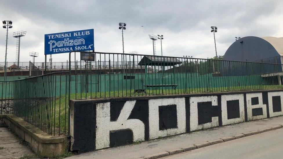 Partizan Tennis, lugar de entrenamiento de Novak Djokovic cuando era niño.