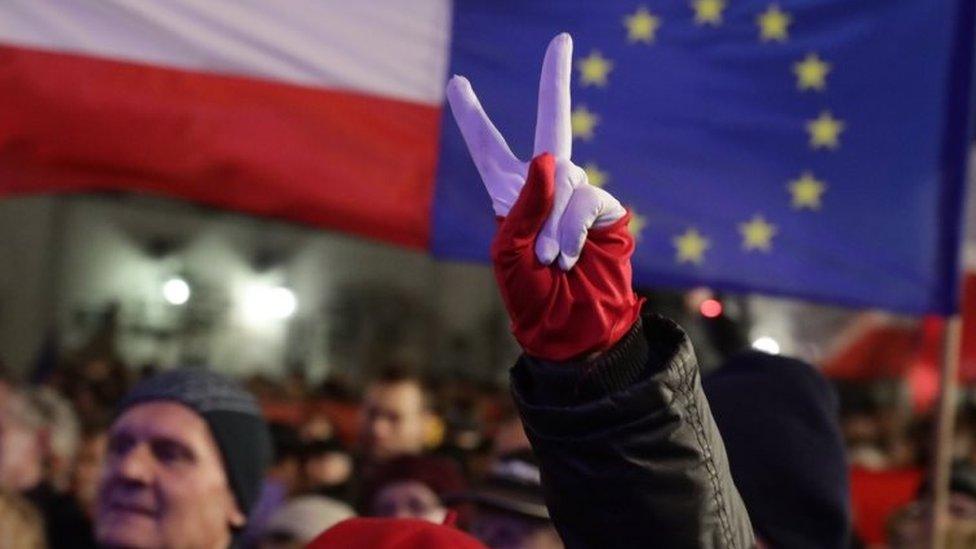 Protest in Warsaw. Photo: 24 November 2017