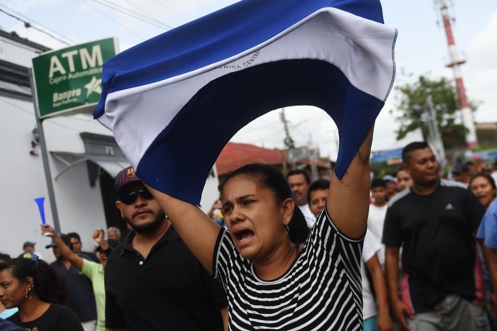 Oposición realiza paro para presionar la salida de Ortega — Nicaragua