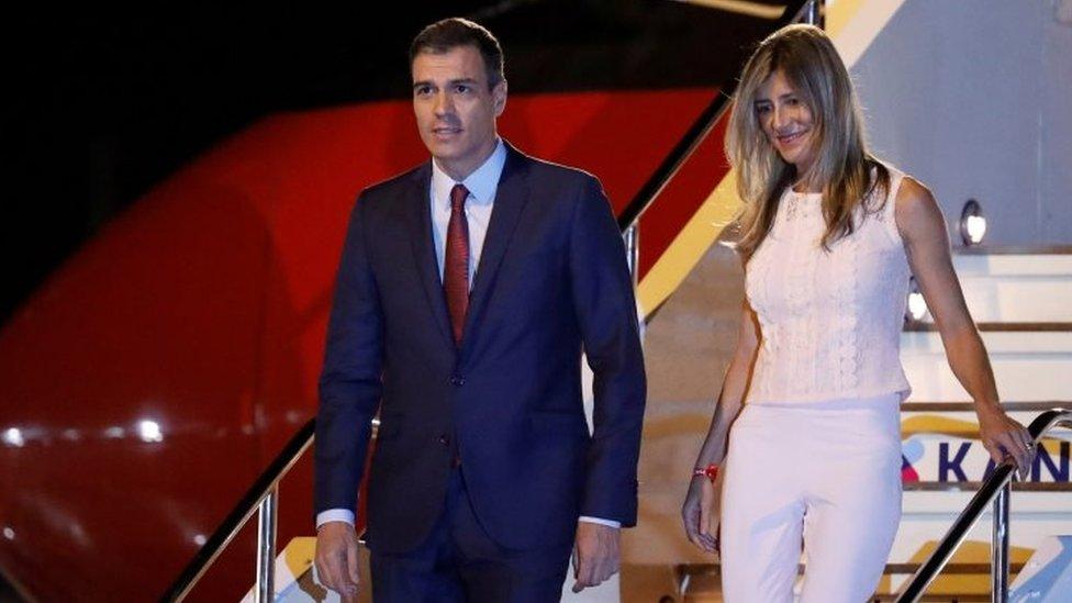 Premijer Španija sa suprugom