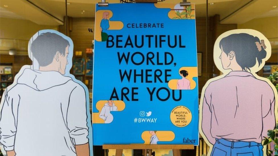 Novel Beautiful World, Where Are You (Sept 2021)
