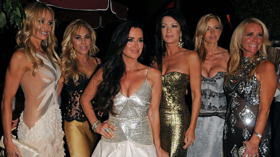 Lisa Vanderpump and the rest of the original cast of Real Housewives of Beverly Hills