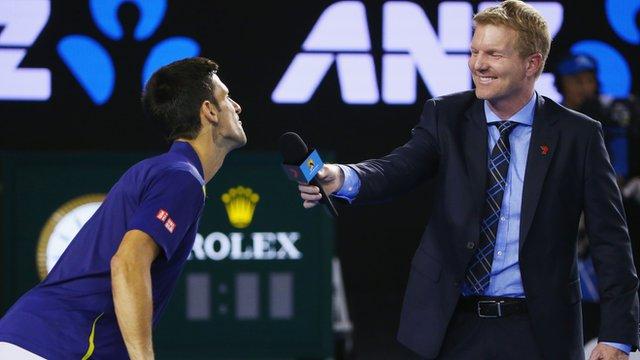 Djokovic teases Courier after Federer victory