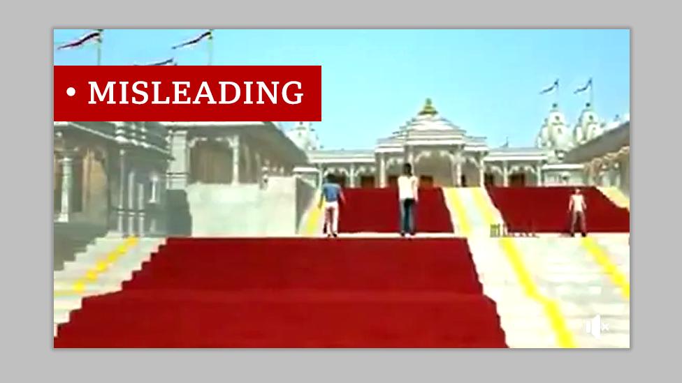Graphic image of Jain temple