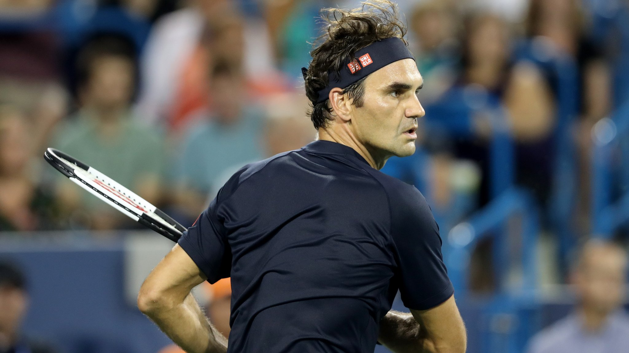 Cincinnati Masters: Roger Federer wins second game in a day to reach semi-finals