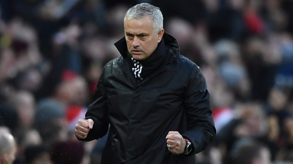 Man Utd 4-1 Fulham: 'Intense & happy' first half pleases Jose Mourinho