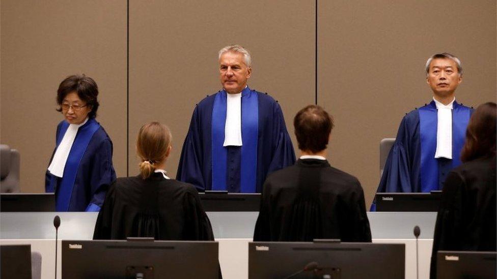 تأسست المحكمة الجنائية الدولية في عام 2002