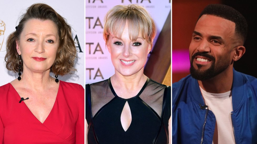 Lesley Manville, Sally Dynevor, Craig David