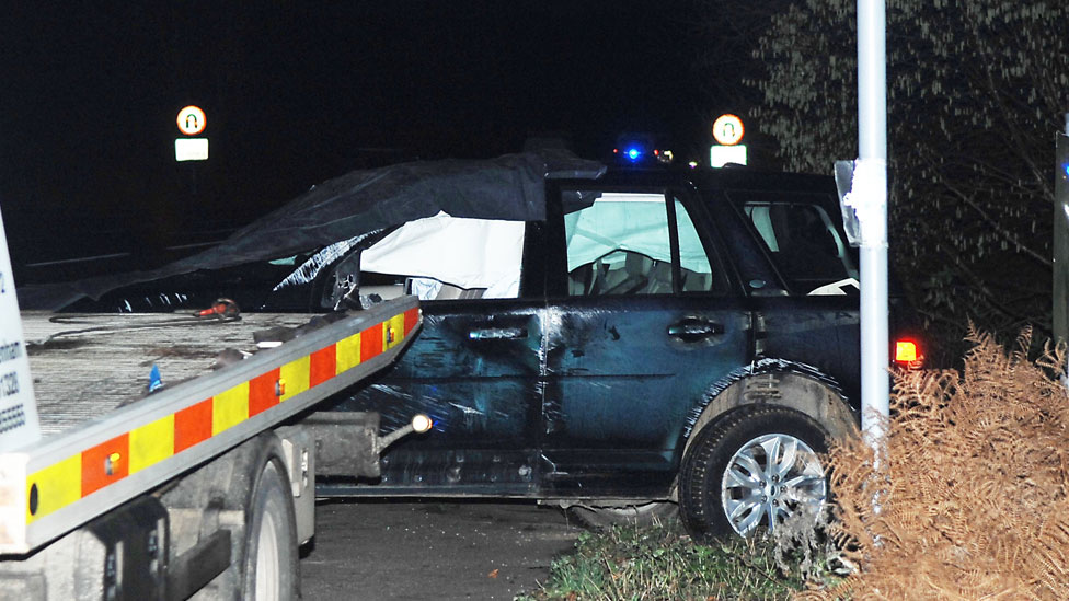 Prince Philip: Sandringham crash led to car 'tumbling' across road