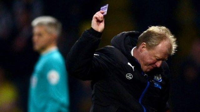 Watford 2-1 Newcastle: We threw everything at them - McClaren