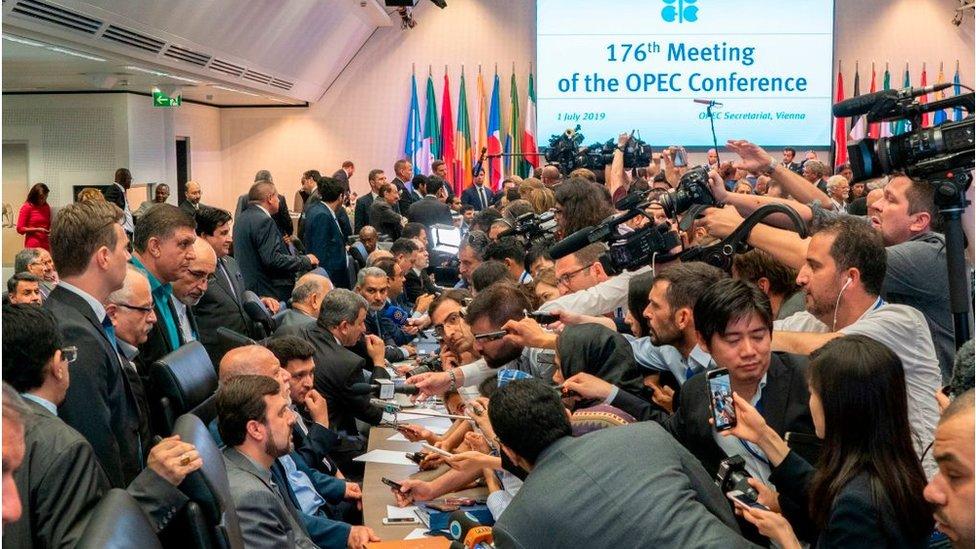 Conferencia de la OPEP en 2019
