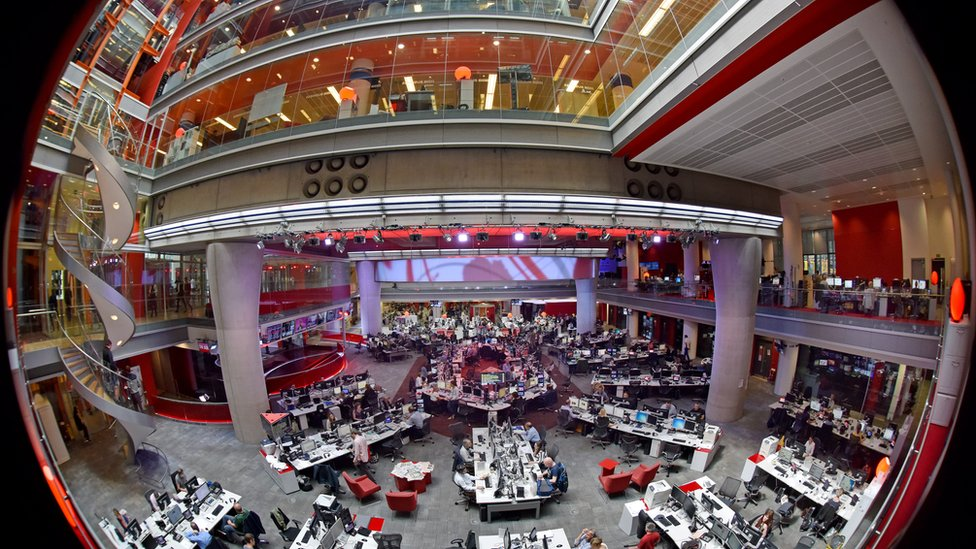 The BBC Newsroom