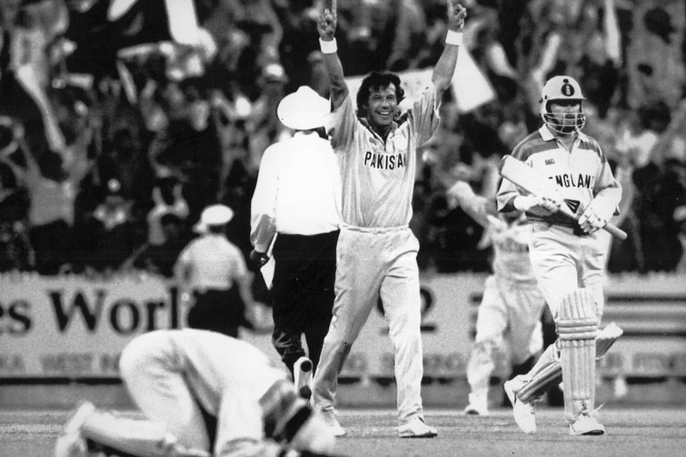Imran Khan in the 92 World Cup, 27 March 1992