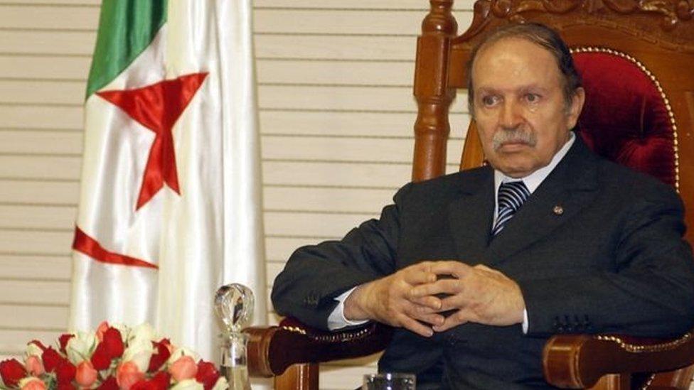 تولى عبدالعزيز بوتفليقة رئاسة الجزائر في عام 1999