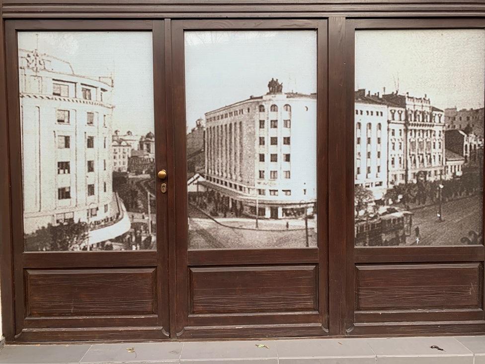 Izgled Starog Beograda i danas krasi izlog jedne od radnji na Terazijama