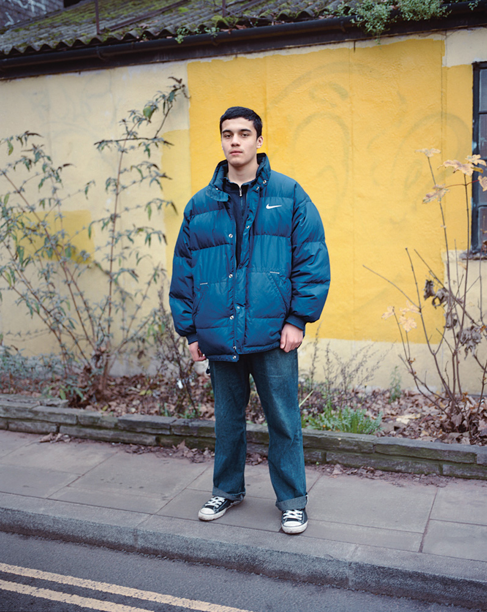 Portrait of a teenager from London Youth