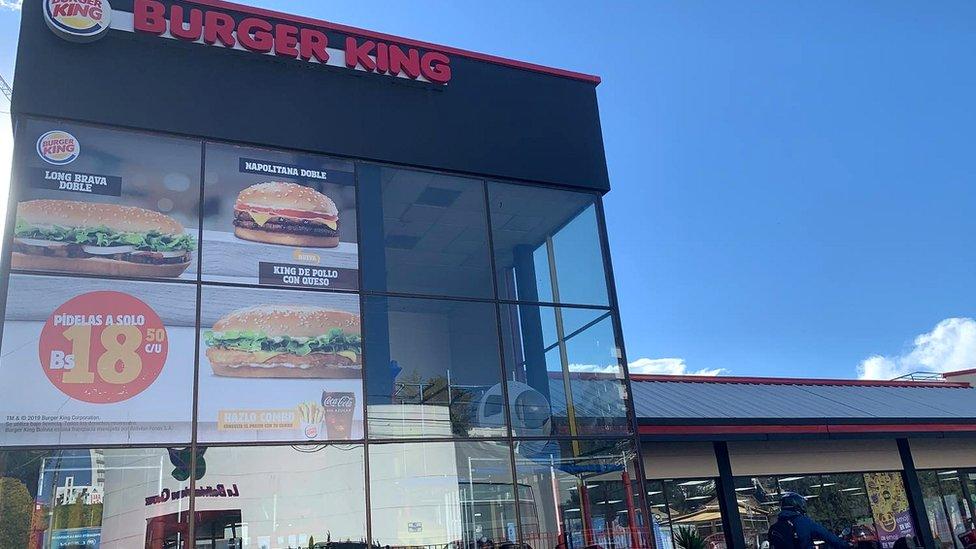 Burger King en La Paz
