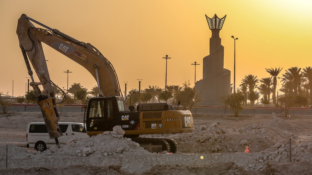 'Migrants working on construction of new city before 2022 World Cup left unpaid'